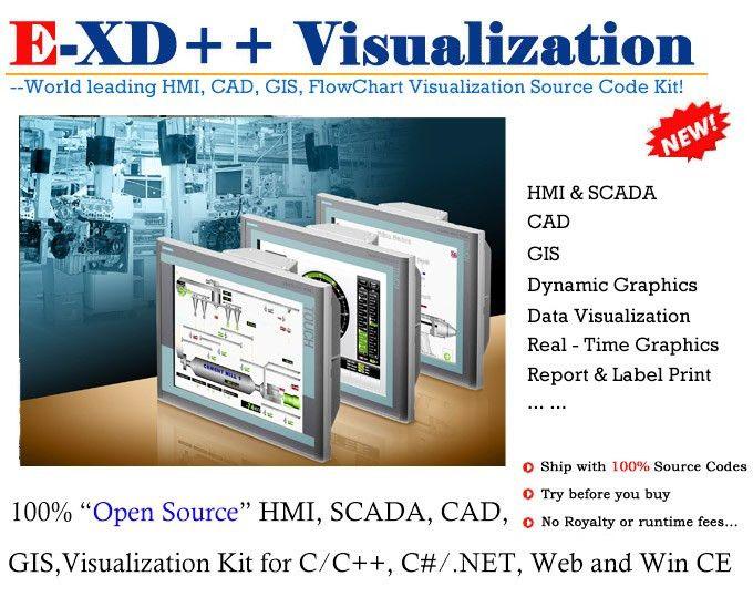 E-XD++ Visualization - HMI,SCADA, CAD, GIS - Developer Tools ...