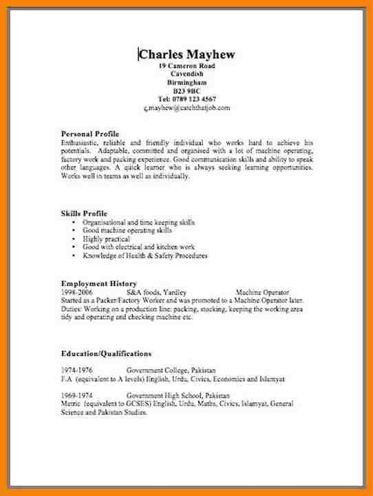 4+ uk resume format | hr cover letter