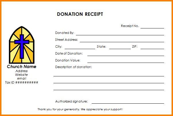 Donation Receipt Template.church Donation Receipt Template.png ...