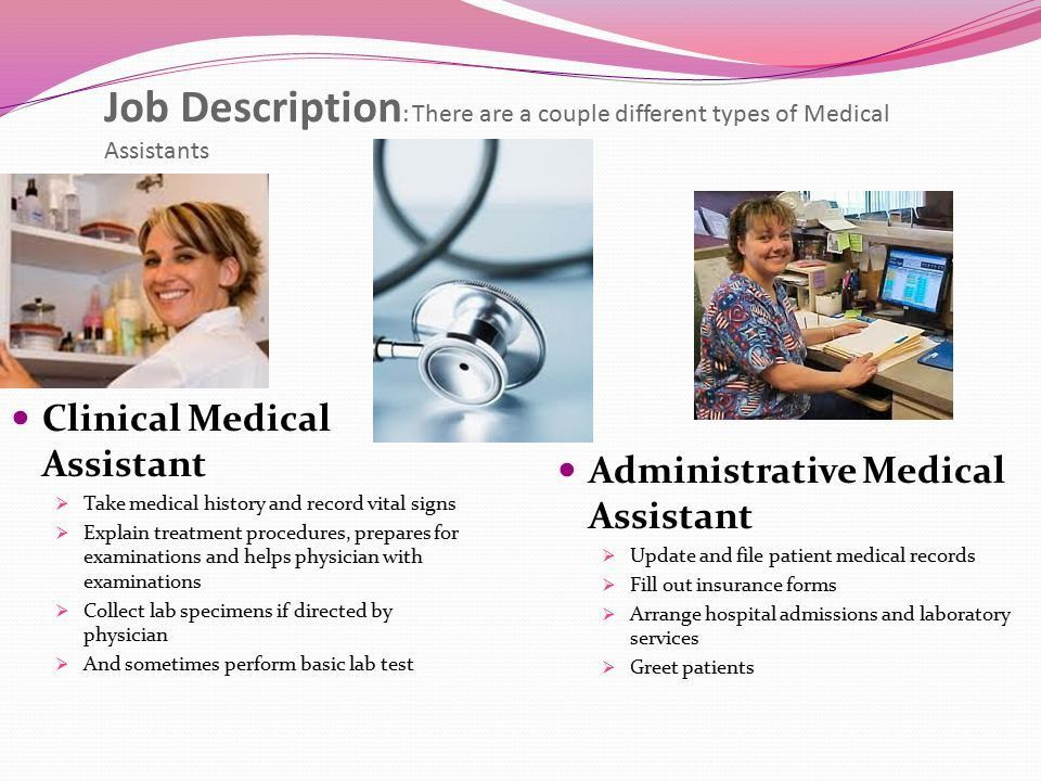 The Medical Assistant field has increased dramatically in the last ...