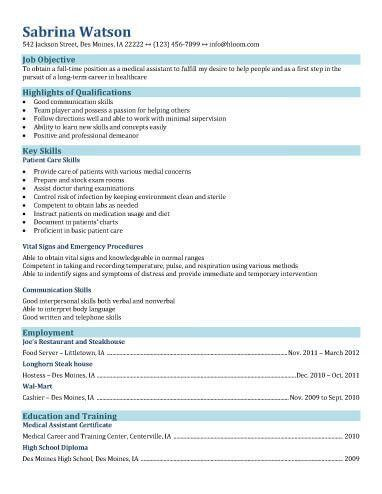 Download Medical Resume | haadyaooverbayresort.com