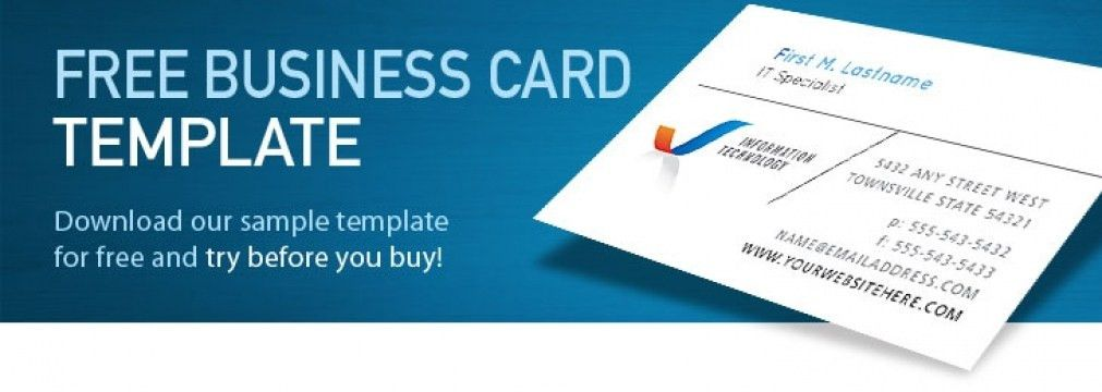 Minimalist Ms Word Business Card Templates Free Download NAY3V3 ...