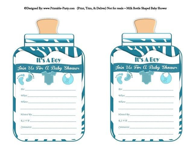 Printable Baby Shower Invitations – gangcraft.net