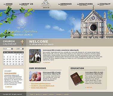 Church website template | Best Website Templates