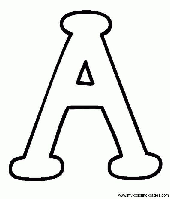 Large Block Letters Template | | thehawaiianportal.com