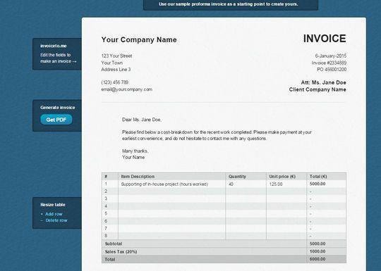 12 Best Free Invoice Generators   SmashingApps.com