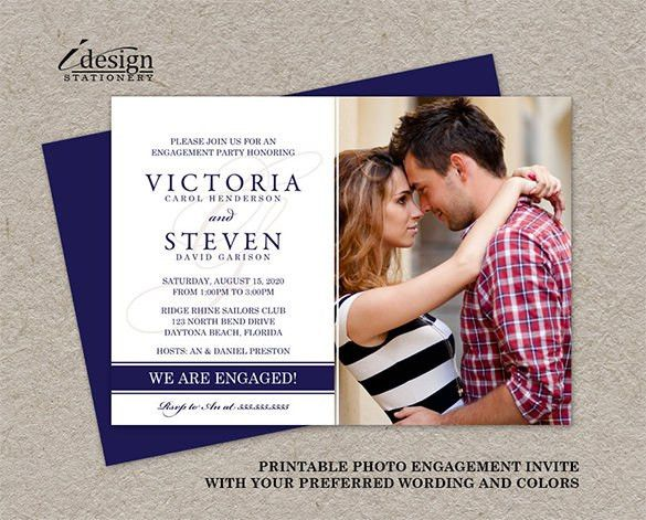 Invitation Card Template – 20+ Free Sample, Example Format ...