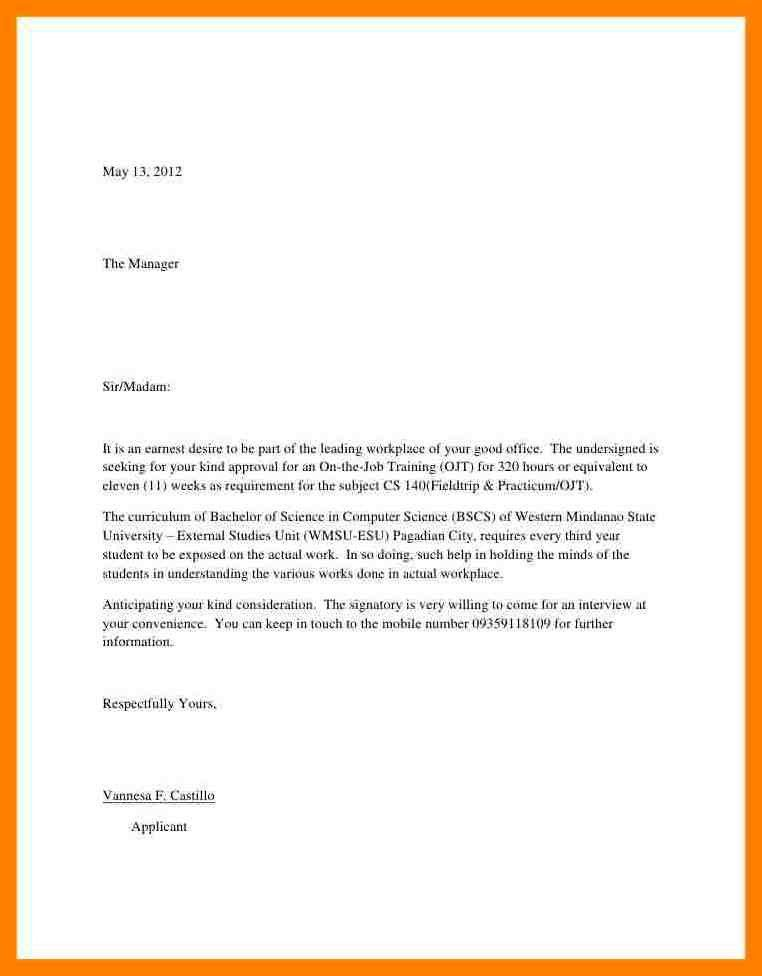 7+ simple application letter sample | simple cv formate