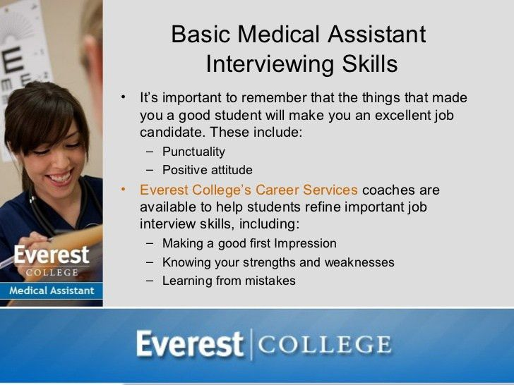 Interviewing for a Medical Assistant Job
