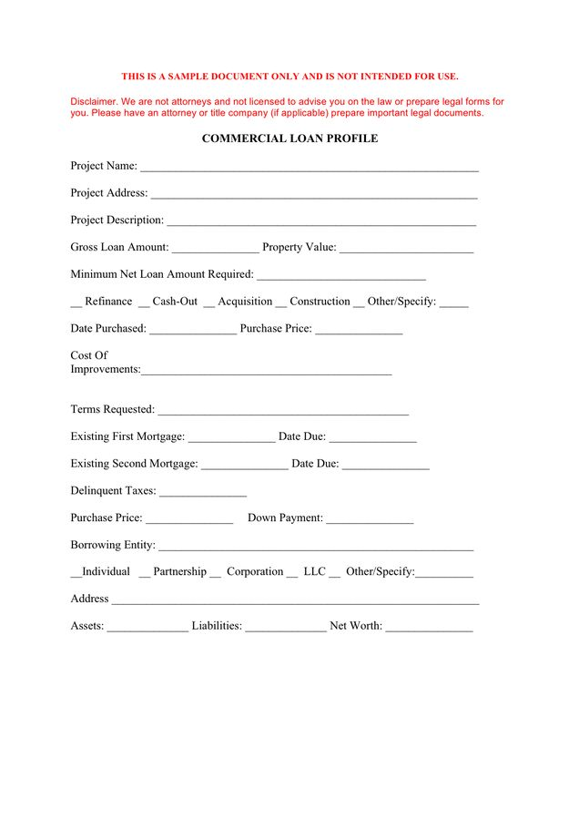 Loan Application Form - download free documents for PDF, Word and ...
