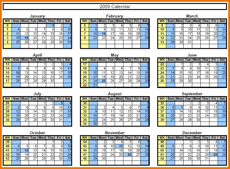 Excel Calendar Templates.excel Calendar Template.png | Scope Of ...
