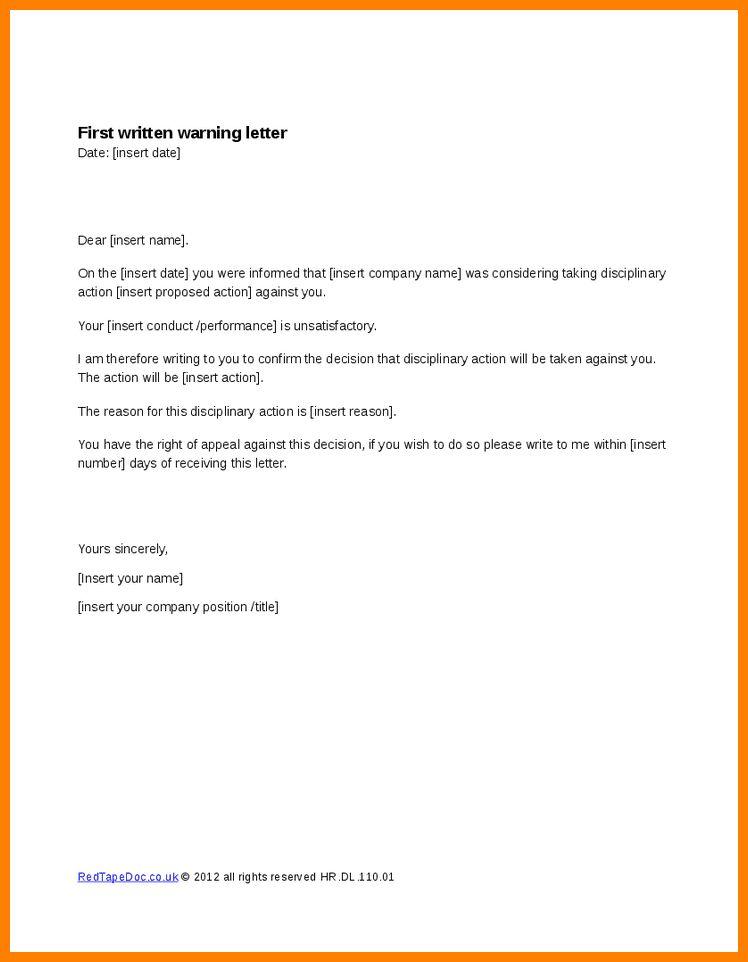5+ written warnings | resume pictures