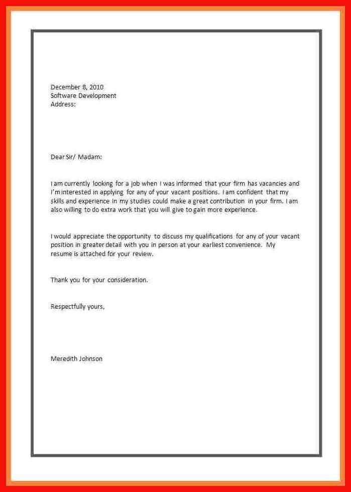 Sample Application Letters. Scholarship Application Cover Letter ...
