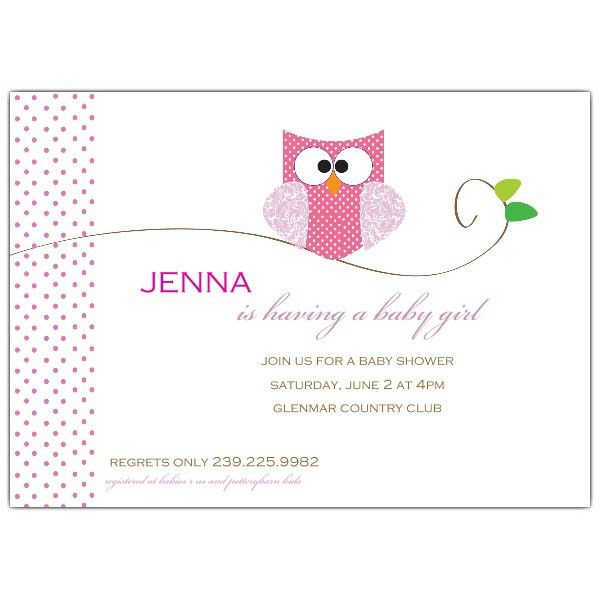 Owl Baby Shower Invitations | Paper Style