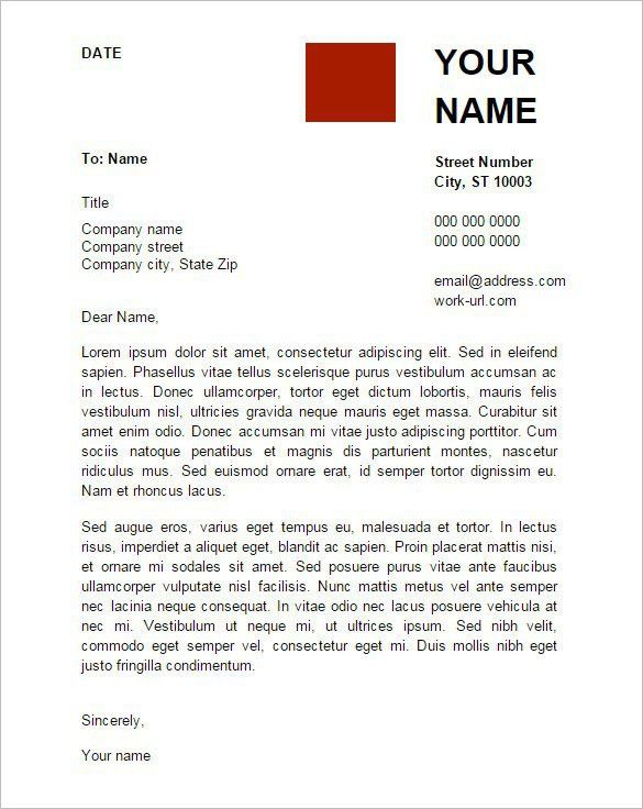 Google Docs Cover Letter Template | Best Template Examples