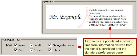 Custom Signature Appearances — Digital Signatures Guide for IT