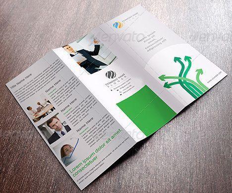 tri fold brochure templates word