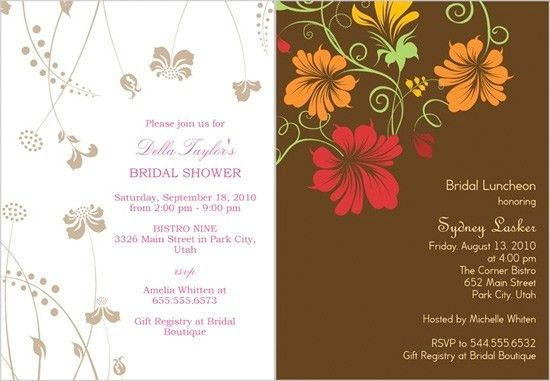 Shutterfly Bridal Shower Invitations | almsignatureevents.com