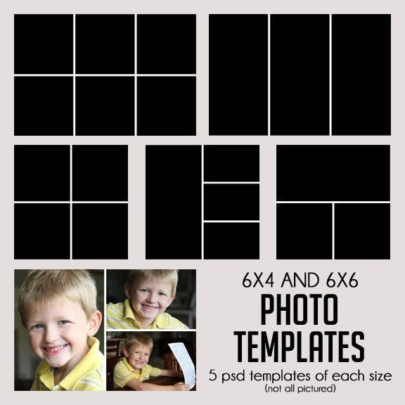 52 best Photo collage templates images on Pinterest | Photo ...