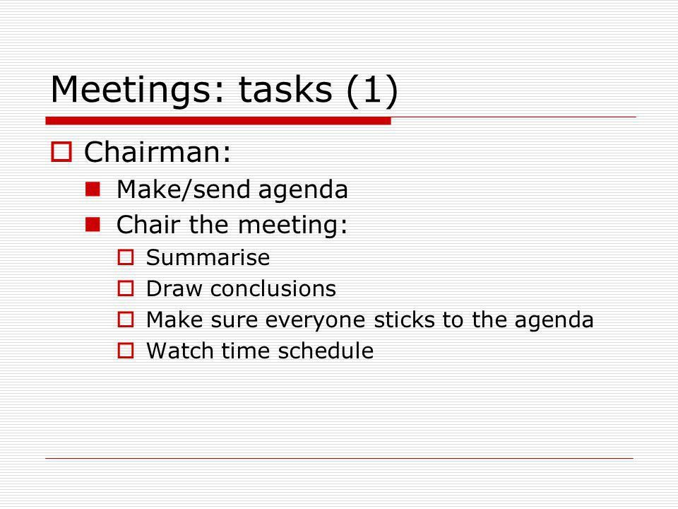 Meetings and minutes. - ppt download