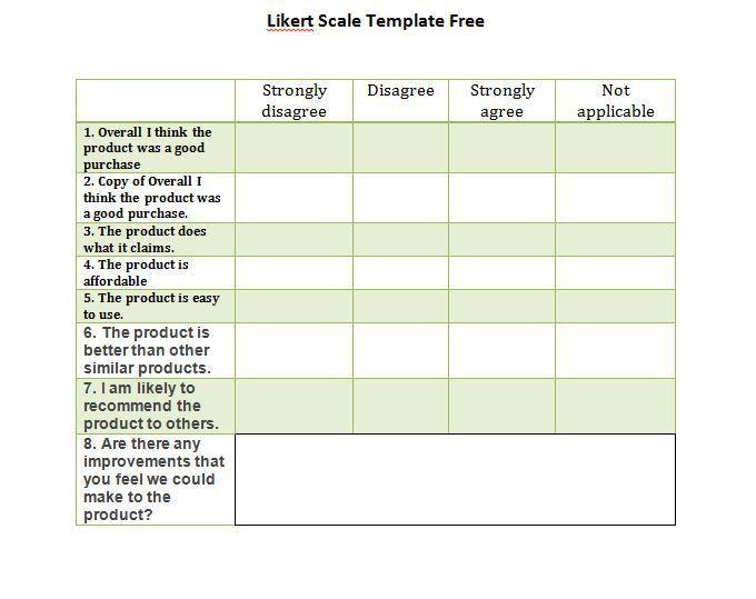 Blank Survey Template. Post-Employee-Printable-Template-Staff ...