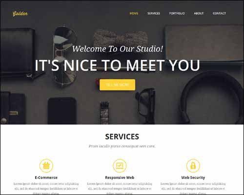 25 Premium Free Responsive CSS3 HTML5 Website Templates