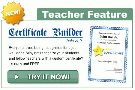 Certificates 4 Teachers: Awards, Certificates, Diplomas ...