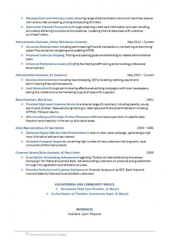 mid level resume sample sample resume for a mid career