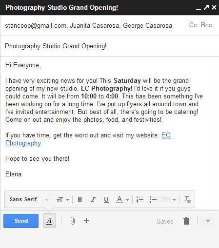 Sending Resume Email #15595
