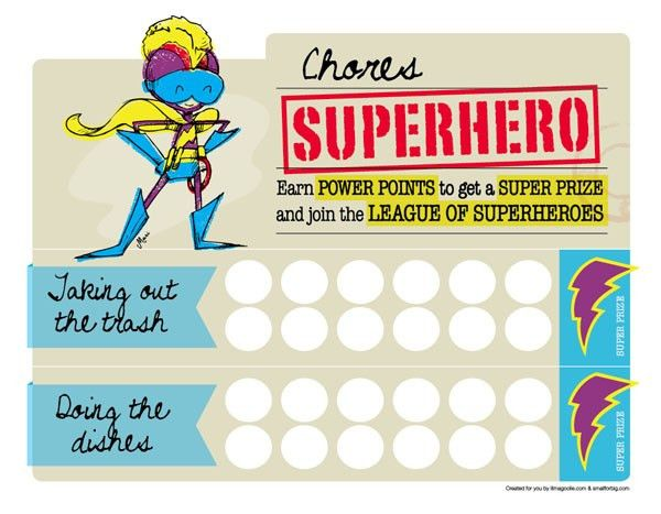 Free printable rewards chart. It's customizable and has a girl or ...