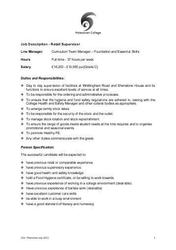 Stocker Job Description. Contract Administrator Job Description ...