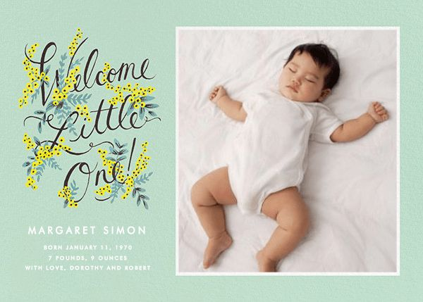 Birth announcements - online and paper - Paperless Post