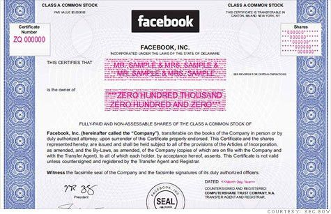 Facebook IPO: How to buy 1 share of Facebook stock - May. 14, 2012