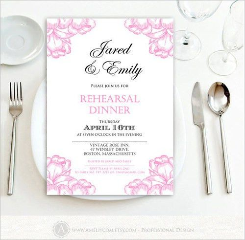 Sample Invitation Template -Download Premium and Free Documents in ...