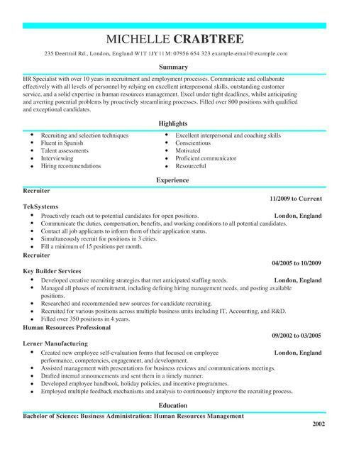 download bilingual recruiter resume haadyaooverbayresortcom