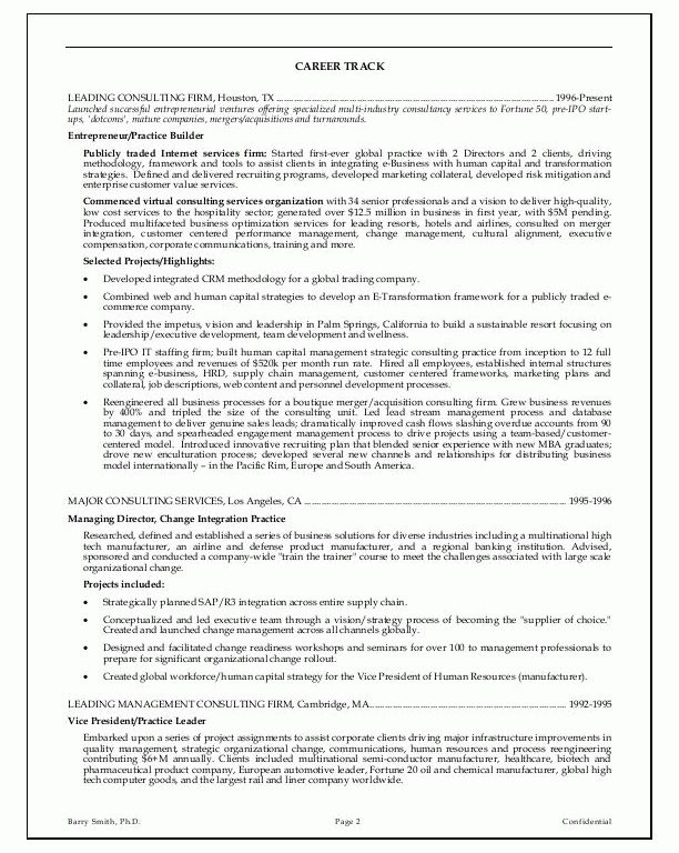Very Attractive Executive Resume Examples 15 Sample Resumes CEO ...