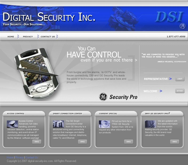 Burglar Alarms By GE Security Pro