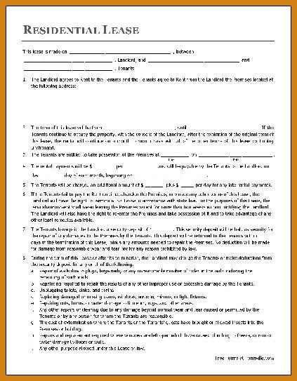 house lease template | letter format template
