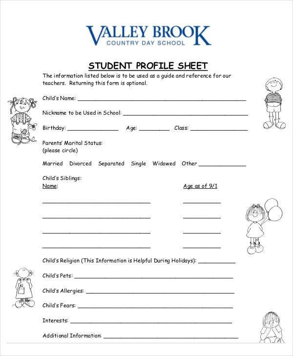 9+ Student Sheet Templates | Free & Premium Templates
