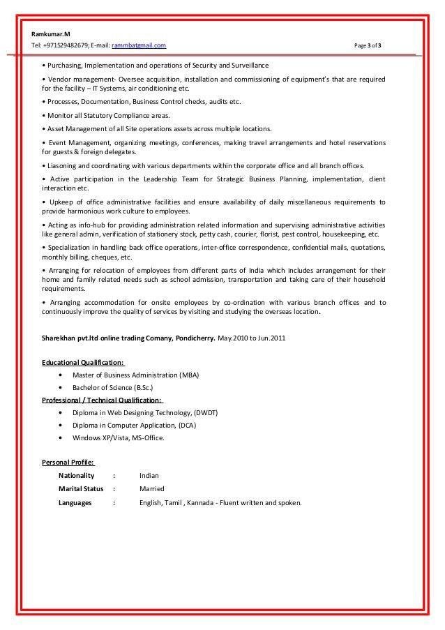 Ramkumar - Resume updated