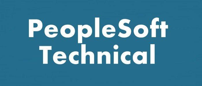 Peoplesoft Technical Online Training | Maxonline