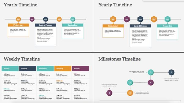Where can I get different timeline templates for PowerPoint? - Quora