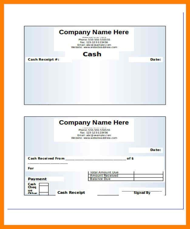 Awesome Payment Receipt Format Gallery - Best Resume Examples for ...