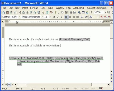 EndNote X: A Quick Start Online Tutorial | 3. Write & Cite |