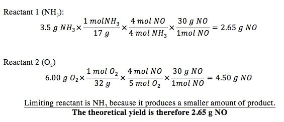 Equation For Theoretical Yield - Jennarocca