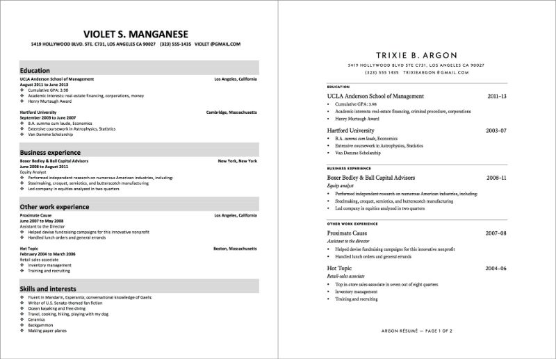 How To Make Your Resume 18 Cool Ideas How To Write Your Resume 15 ...