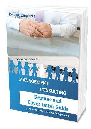 Consulting Resume and Cover Letter Guide