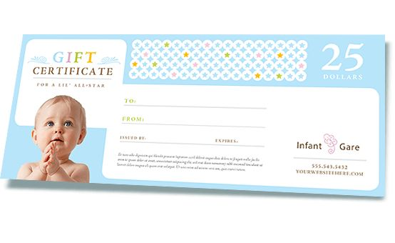 Make a Gift Certificate using Word or Publisher Templates