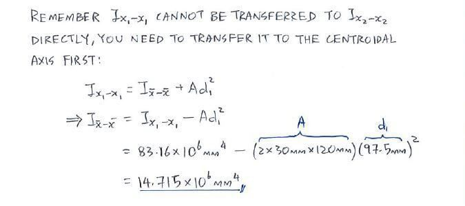 Question 1 | C4.5 Parallel-Axis Theorem | Statics