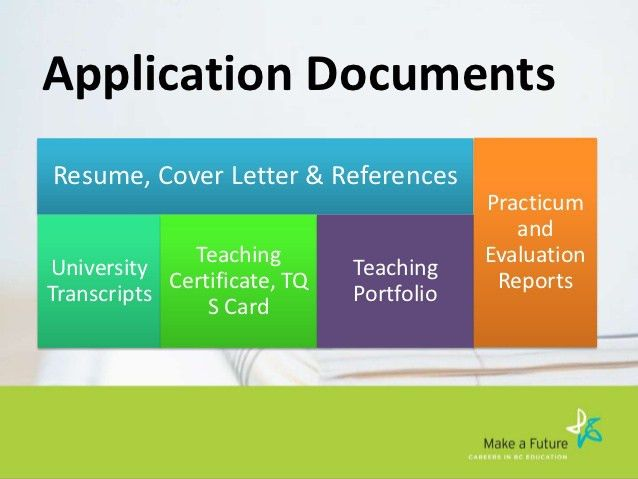 Applying for your first job in teaching - UBC Okanagan